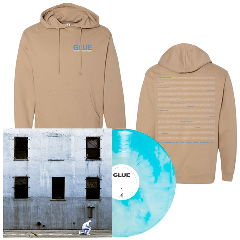 Boston Manor 'GLUE' PN Exclusive 2 LP + Hoodie Bundle