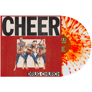 Drug Church 'Cheer' LP (Clear with Orange Splatter)