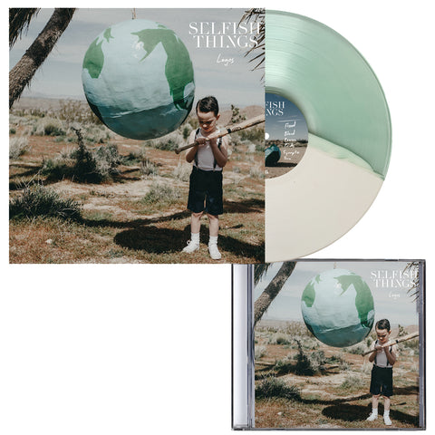 Selfish Things 'Logos'  CD + Various 2 LP Bundle