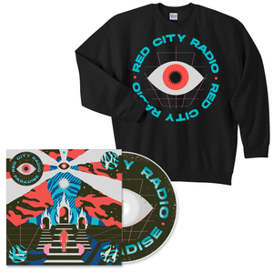 Red City Radio Paradise CD + Crewneck Bundle