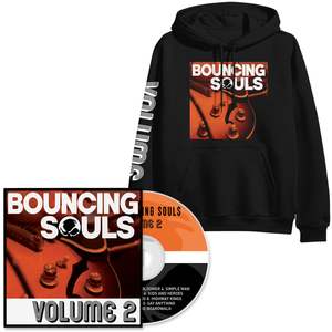 The Bouncing Souls 'Volume 2' CD + Hoody Bundle