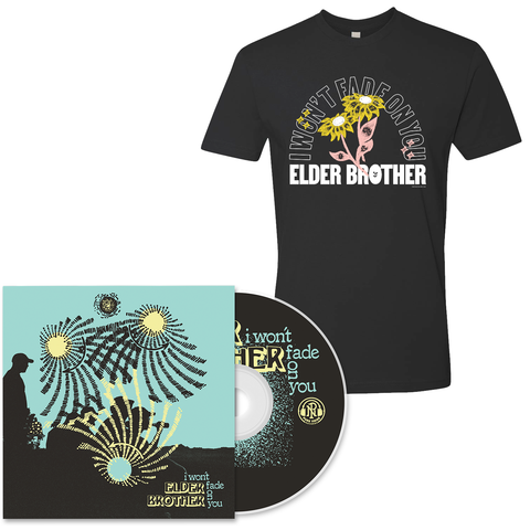 Elder Brother 'I Won't Fade on You' CD + T-Shirt Bundle