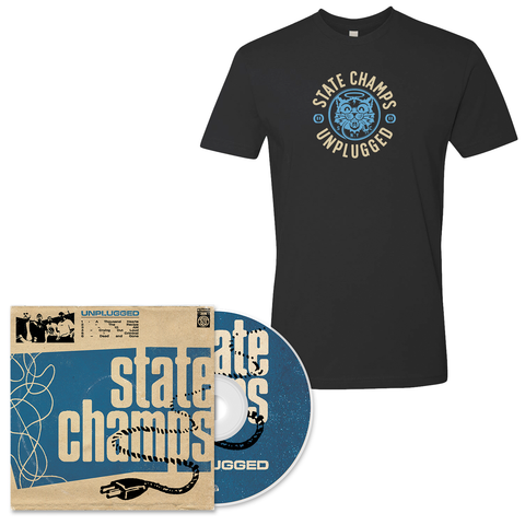 State Champs 'Unplugged' CD + T-Shirt