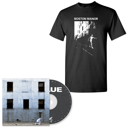 Boston Manor 'GLUE' CD + Black Tee Bundle