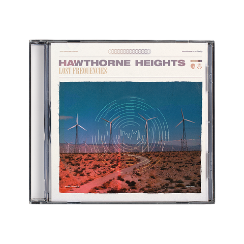 Hawthorne Heights 'Lost Frequencies' CD