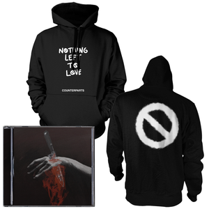 Counterparts 'Nothing Left To Love' CD + Hoodie Bundle