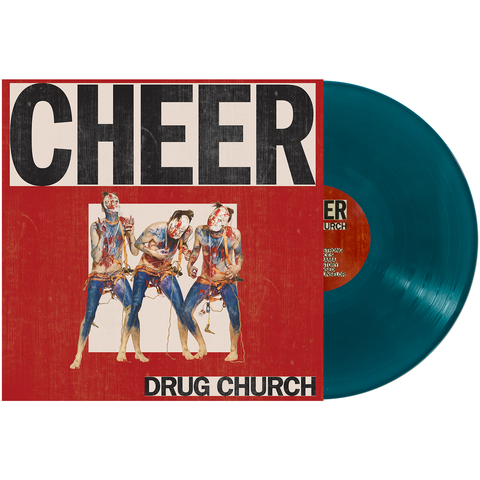 Drug Church 'Cheer' LP (Sea Blue)