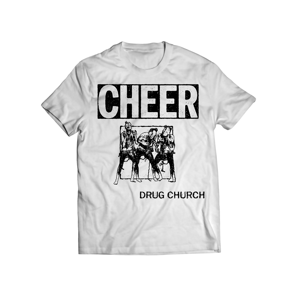 Drug Church 'Cheer' White T-Shirt