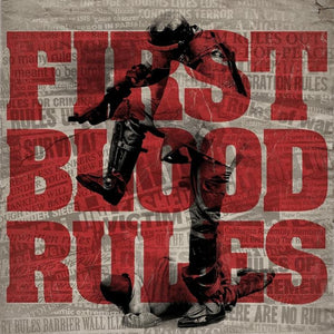 First Blood 'Rules' CD