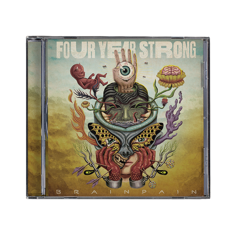 Four Year Strong 'Brain Pain' CD