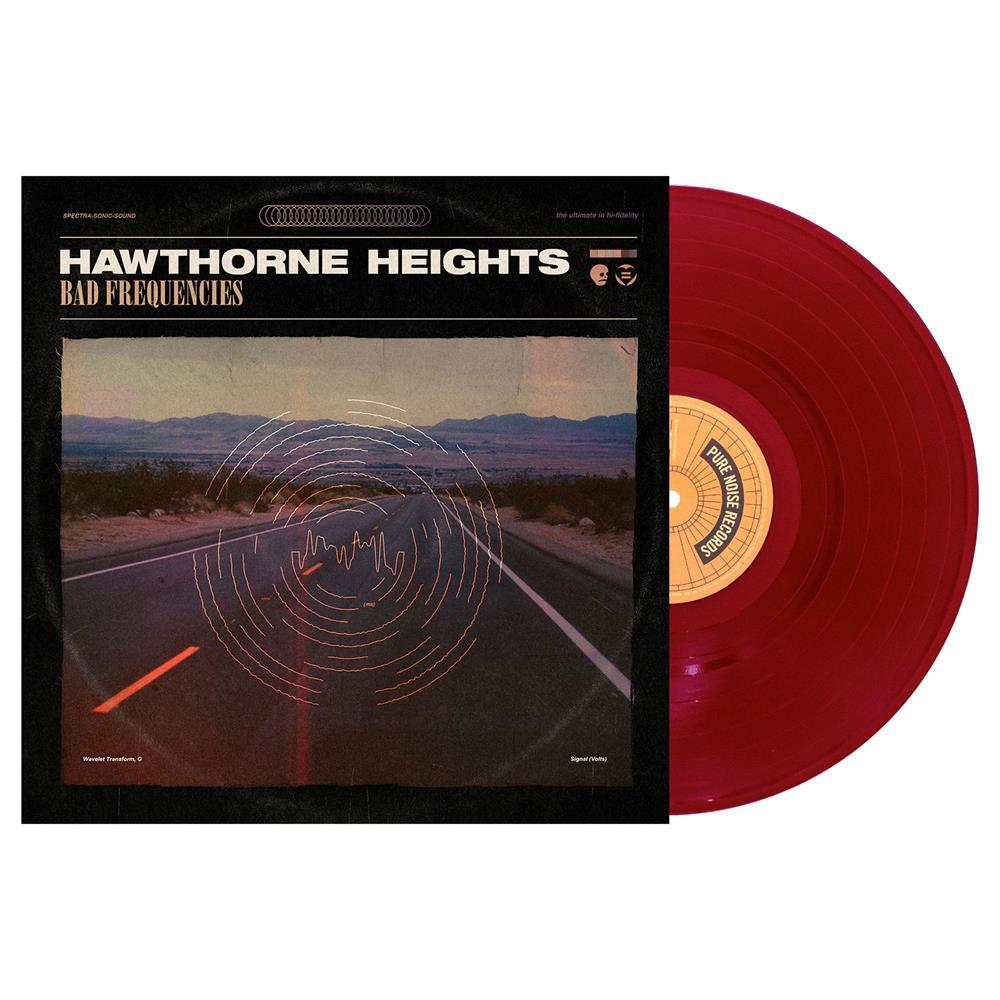 Hawthorne Heights 'Bad Frequencies' LP (Deep Purple)