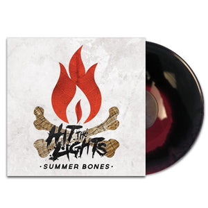 Hit The Lights 'Summer Bones' LP (Black & Red Splatter)