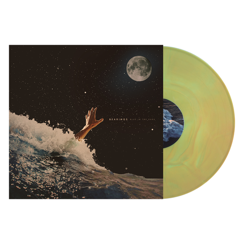 BEARINGS BLUE IN THE DARK GOLD LP