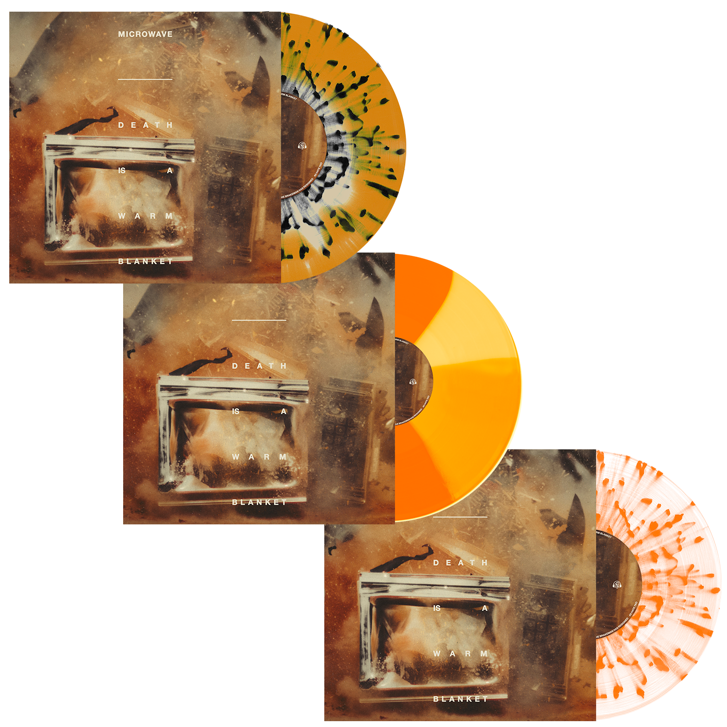 Microwave 'Death Is A Warm Blanket' LP Bundle