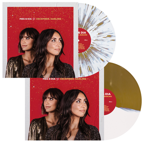 Meg & Dia 'December, Darling' LP Collection Bundle
