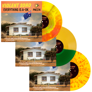 Violent Soho 'Everything is A-OK' LP Collection Bundle