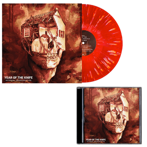 Year of the Knife 'Internal Incarceration' LP (Various - Bone in Blood Red w/ heavy Bone splatter) + CD Bundle