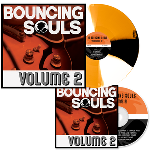 The Bouncing Souls 'Volume 2' CD + PN1 Exclusive LP Bundle