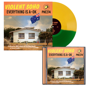 Violent Soho 'Everything is A-OK' CD + VAR1 EX Bundle