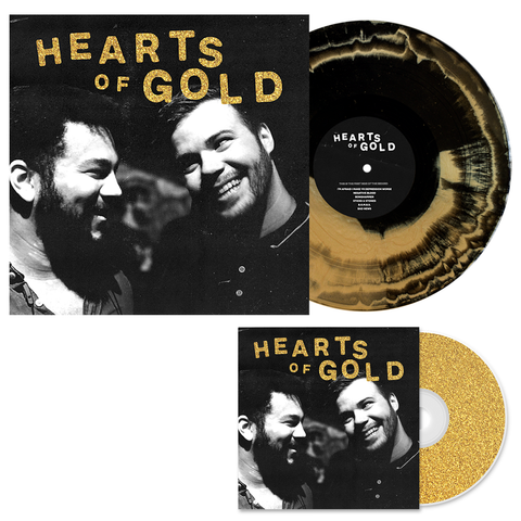 Dollar Signs 'Hearts of Gold' CD + Various 1 LP Bundle