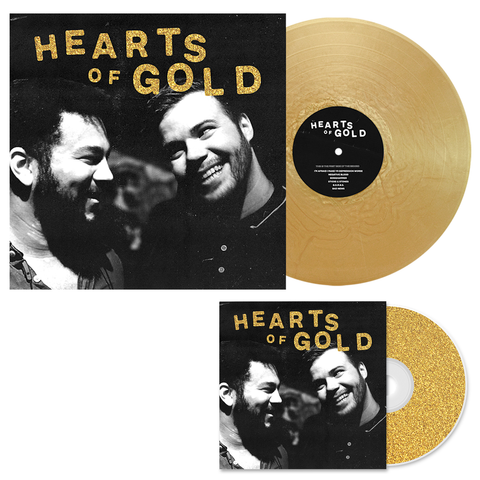 Dollar Signs 'Hearts of Gold' CD + Various 2 LP Bundle