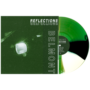 Belmont 'Reflections' PN Exclusive 1 LP (Kelly Green w/ White & Black Twist)