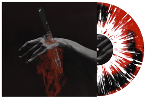 Counterparts 'Nothing Left To Love' PN Exclusive 1 Black & Red(ish) Aside / Bside w/ heavy white & Silver splatter