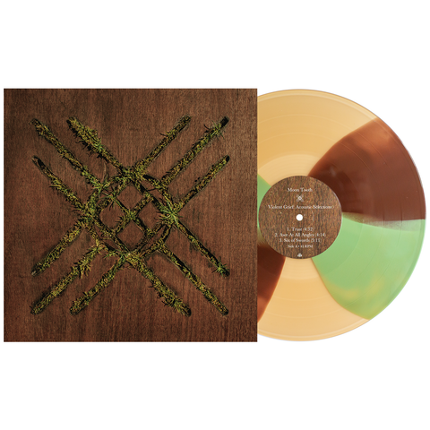 Moon Tooth 'Violent Grief: Acoustic Selections' LP (PN 1 - Beer w/ Brown & Olive Twist)