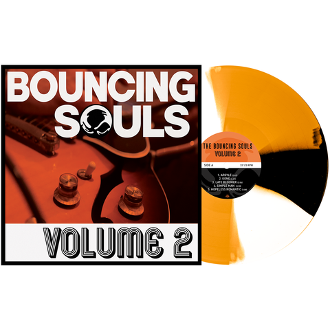 The Bouncing Souls 'Volume 2' PN Exclusive 1 - Orange Crush w/ Black & White Twist