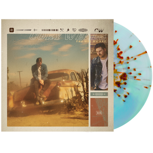 Cory Wells 'The Way We Are' LP Web Exclusive 1 (Electric Blue & Milky Clear A/B Heavy Halloween Orange Splatter)