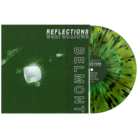 Belmont 'Reflections' Various 1 LP (Swamp Green / Doublemint Aside / Bside w/ Heavy Black & White Splatter)