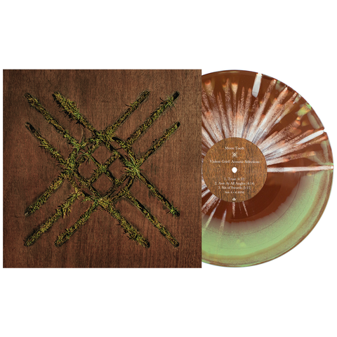 Moon Tooth 'Violent Grief: Acoustic Selections' LP (PN 2 - Brown & Olive Aside/Bside w/ heavy white splatter)