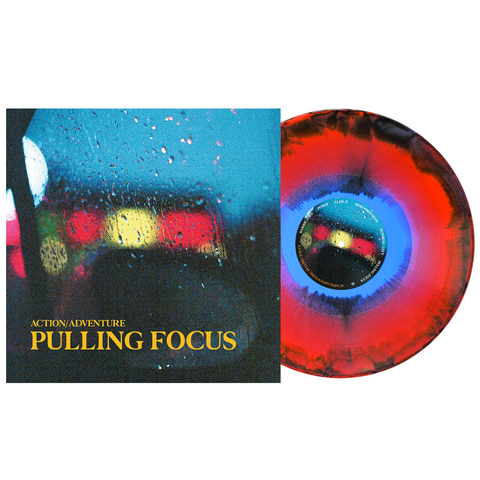 Action/Adventure - Pulling Focus PN Webstore Exclusive 2 – Red(Ish), Cyan Blue & Black Aside/Bside