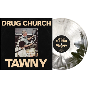 Drug Church - TAWNY PN2 - Black, Bone & white aside/bside