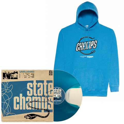 State Champs 'Unplugged' LP (PN2) + Hoodie