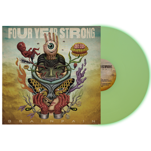 Four Year Strong 'Brain Pain' PN Exclusive 2 Glow in the Dark