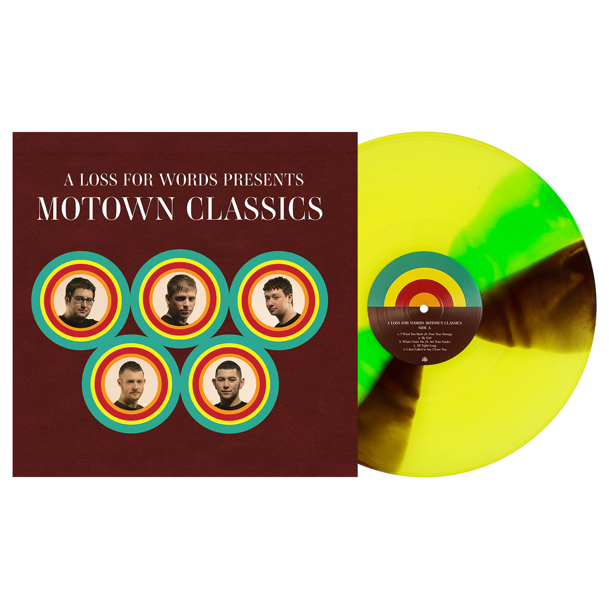 A Loss For Words 'Motown Classics' PN Exclusive 1 - Highlighter Yellow, w/ Neon Green & Brown Twist