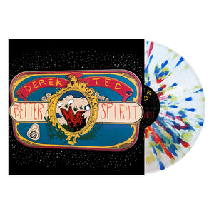Derek Ted 'Better Spirit' PN Webstore Exclusive - Clear w/ Blood Red, Highlighter Yellow and Sea Blue Splatter