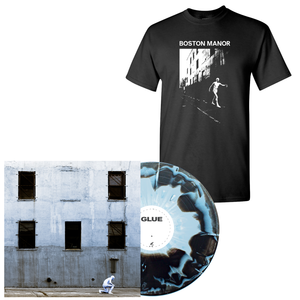 Boston Manor 'GLUE' PN Exclusive 1 LP + Black Tee Bundle