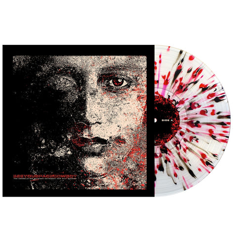 SeeYouSpaceCowboy 'The Correlation Between Entrance and Exit Wounds' Various - Clear w/ Heavy Black & Blood Red Splatter