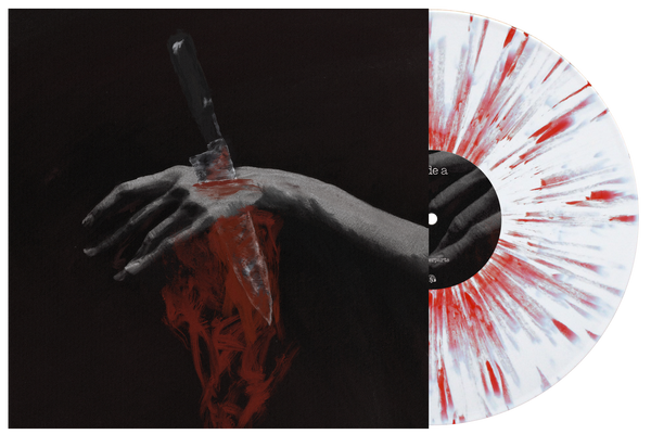 Counterparts 'Nothing Left To Love' Various White with heavy Blood Red splatter