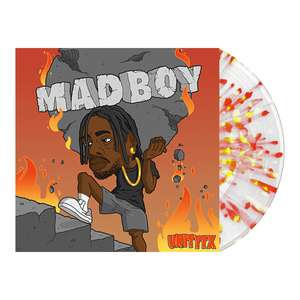 UNITYTX 'MADBOY' Various 1 LP - Clear w/ Heavy Blood Red & Highlighter Splatter