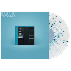 LURK 'Electro-Shock' Various 2 - Clear w/ Heavy Electric Blue & White Splatter