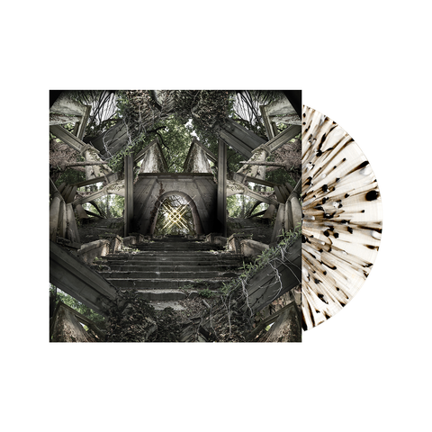 Moon Tooth 'Crux' LP Various 1 (Clear w/ heavy Black, white and silver splatter)