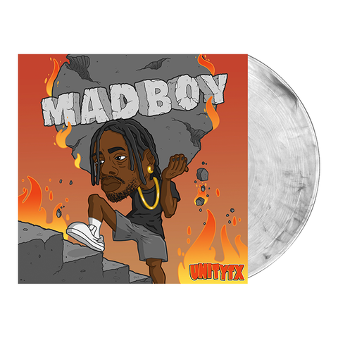 UNITYTX 'MADBOY' Various 2 LP - Clear w/ heavy Black smoke