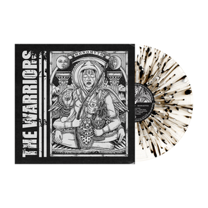 The Warriors 'Monomyth' LP Var 2 (Ultra Clear w/ heavy black and white splatter)