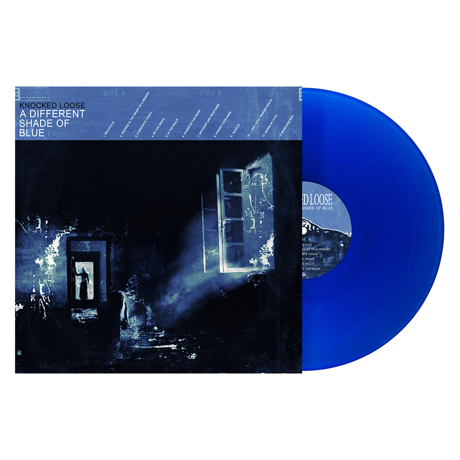 Knocked Loose 'A Different Shade of Blue' LP Various – Royal Blue