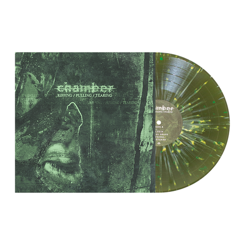 Chamber 'Ripping / Pulling / Tearing' LP Various 1 - Swamp Green w/ Heavy Doublemint & Mustard Splatter