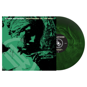 Strike Anywhere 'Nightmares of the West' LP (Various - Swamp Green and Doublemint Galaxy)