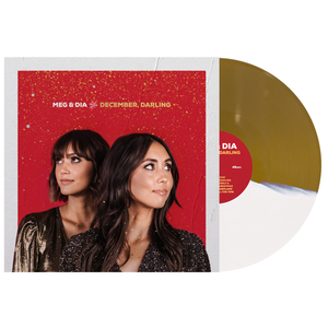 Meg & Dia 'December, Darling' Various - Half White / Half Gold